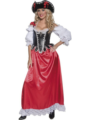 Ladies Pirate Wench Costume