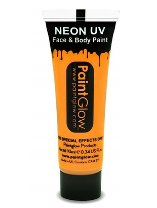 UV Neon Face & Body Paint - Burnt Orange