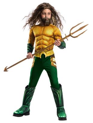 Deluxe Aquaman Costume - Kids