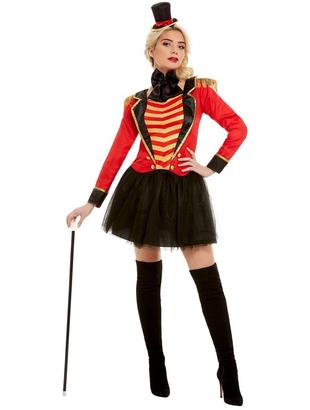 Ladies Deluxe Ringmaster Costume