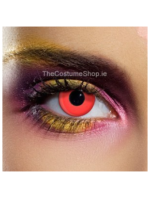 Red Colooured Eye Lenses