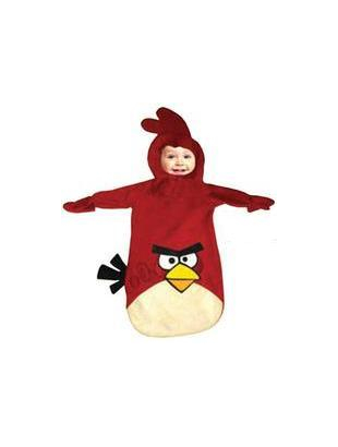 Red Angry Birds - Baby Costume