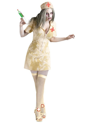 Creepy Zombie Nurse Costume