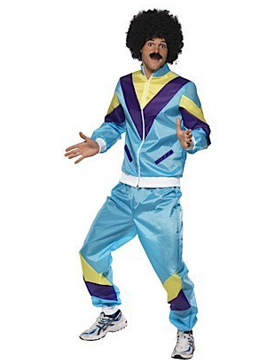 80's height of fashion costume