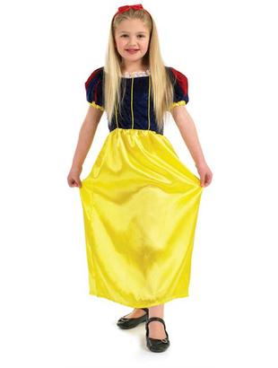 Snow White Girl Costume - Kids