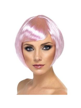 pink wig female