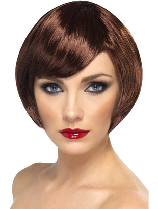 Brown babe wig
