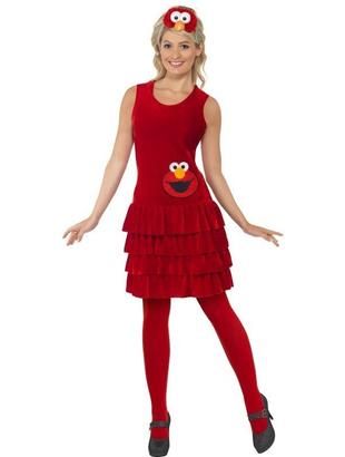 Ladies Elmo Costume