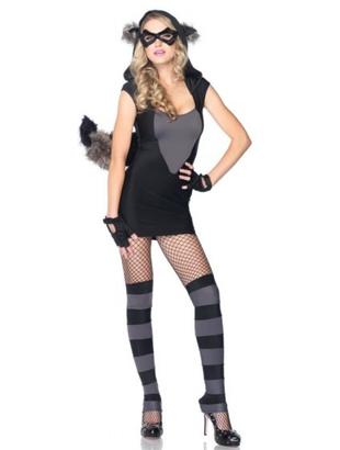Risky Raccoon Costume