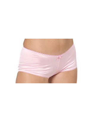 Bijou Boutique Boy Leg Panties - Pink