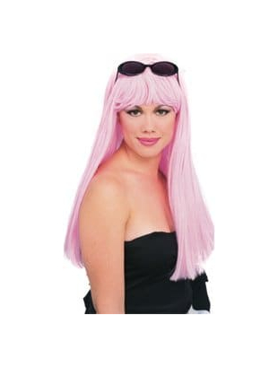 Glamour wig - pink