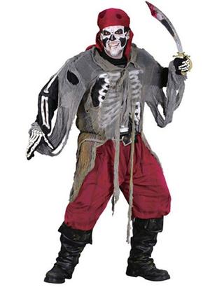 Buccaneer Bones Costume