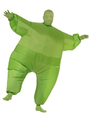 Green Inflatable Costume