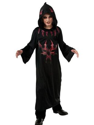 Black Devil Robe Costume