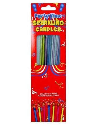 Sparkling Candles - 18 Pack