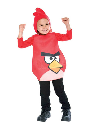 Angry Bird Red Toddler Costume