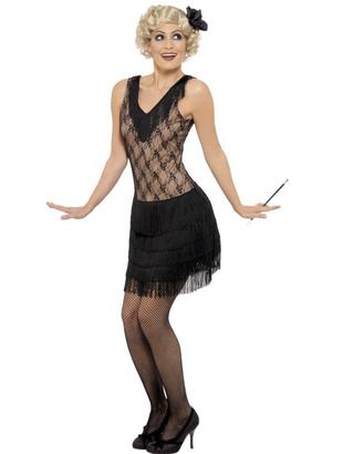 Flapper fancy dress costume