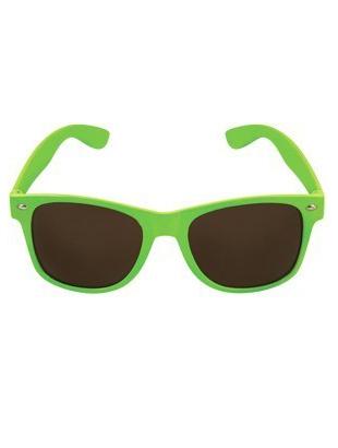 Neon Yellow Glasses