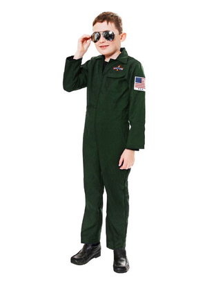 edcbe1b8243f ... kids aviator costume · image 0 · nyan cat baby boy infant green full  sleeves pilot aviator romper hat 2pcs set playsuit ...