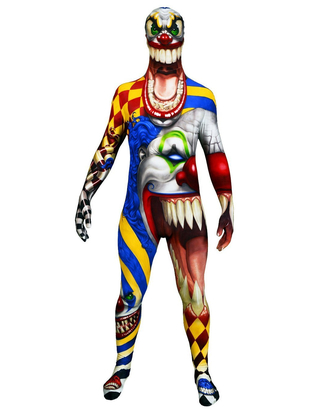 Monster Clown Morphsuit