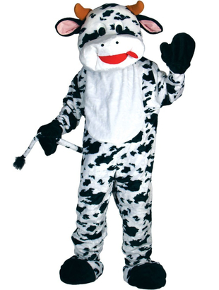 Deluxe Cow Mascot Costume