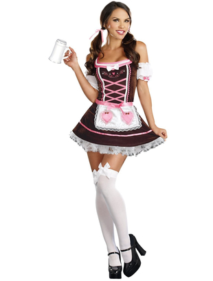 Carrie Me Home Beer Girl Costume