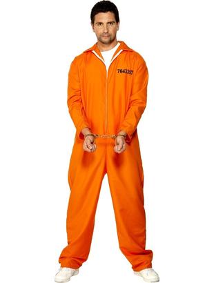 orange Prisoner Costume