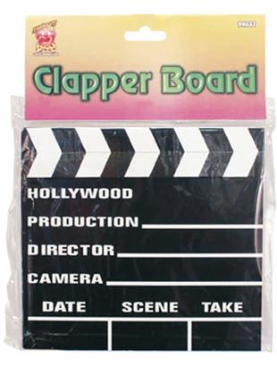 Clapper Board 7x8 inches