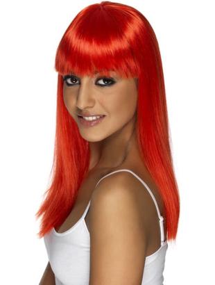 Glamourama Wig - Neon Red