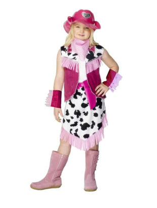 pink cowgirl costume