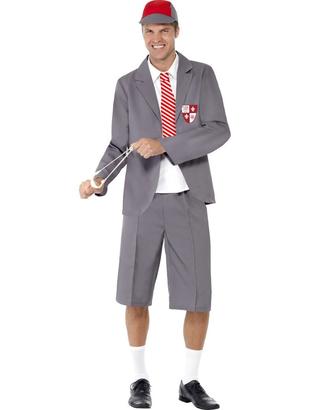 Grey School Boy