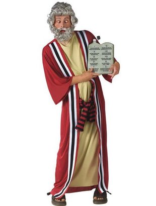 Moses and 10 Commandments Costume