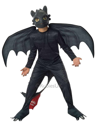 Toothless - How to Train your Dragon costume
