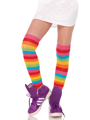 thigh highs MULTICOLOR