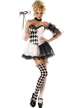 Le Belle Harlequinn Costume
