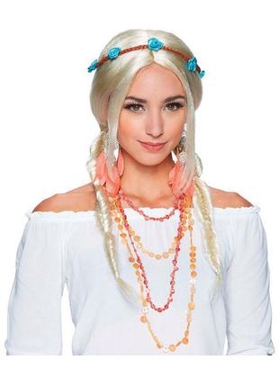 Boho Indie Braids Wig - Blonde