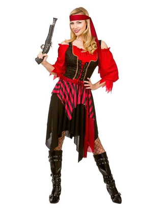 plus size Shipwrecked Pirate Costume