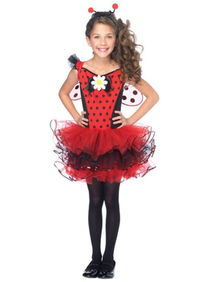 Tween Cutie Bug Costume