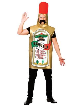 Tequila Bottle Fancy Dress Costume