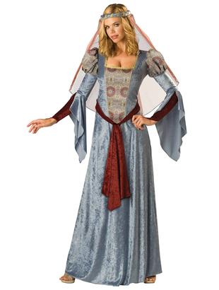 Blue Maid Marion Costume
