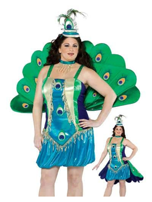 Peacock Plus Size