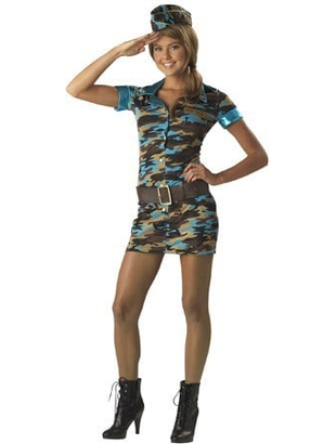 Major Trouble Costume - Teen