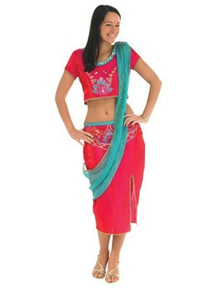 Bollywood Starlet costume