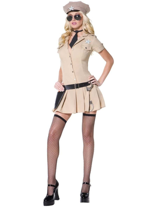 Fever Sultry Sheriff Costume