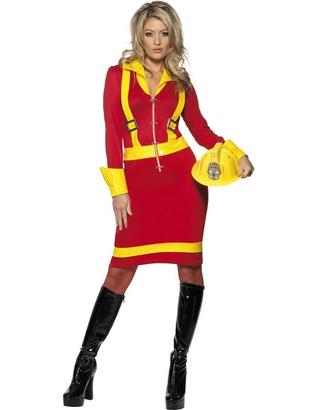 Ladies Fire Fighter Costume