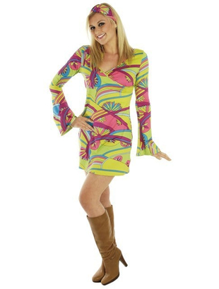 60's Hippy Chick Costume