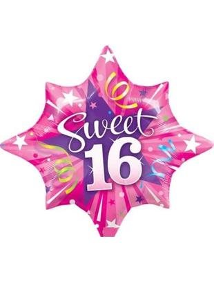 Sweet 16 Shining Star Balloon