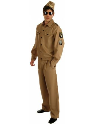 Mens American G.I Costume