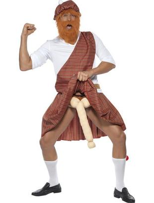 Well Hung Highlander Costume