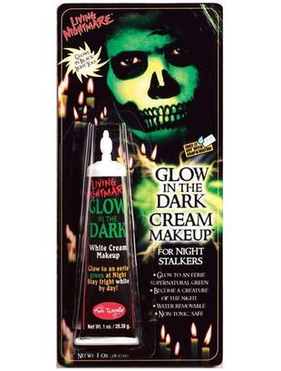 glow in dark cream